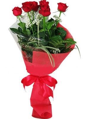 7 adet kirmizi gül buketi  Gaziantep çiçek siparişi vermek