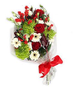 Karisik mevsim buketi çiçek tanzimi  Gaziantep online çiçekçi , çiçek siparişi