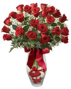 17 adet essiz kalitede kirmizi gül  Gaziantep çiçekçi mağazası