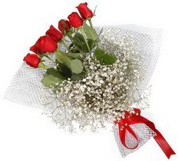 7 adet kirmizimi kirmizi gül buketi  Gaziantep çiçek , çiçekçi , çiçekçilik