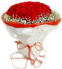 Gaziantep yurtiçi ve yurtdışı çiçek siparişi  41 adet kirmizi gül buketi