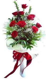 Gaziantep çiçek online çiçek siparişi  10 adet kirmizi gül buketi demeti