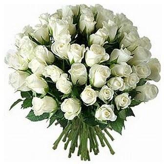 Gaziantep hediye çiçek yolla  33 adet beyaz gül buketi