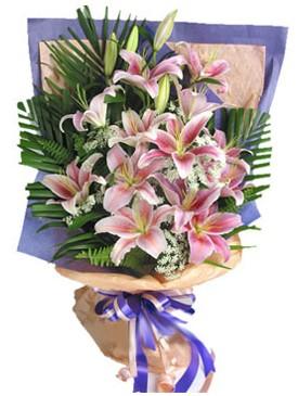 7 dal kazablankadan görsel buket  Gaziantep çiçek siparişi sitesi