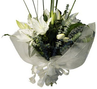 Gaziantep çiçek mağazası , çiçekçi adresleri  2 dal kazablanka çiçek buketi