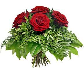 Gaziantep çiçekçi mağazası  5 adet kırmızı gülden buket