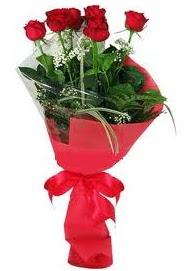 Çiçek yolla sitesinden 7 adet kırmızı gül  Gaziantep güvenli kaliteli hızlı çiçek