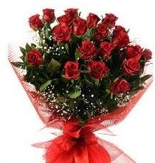 İlginç Hediye 21 Adet kırmızı gül  Gaziantep online çiçekçi , çiçek siparişi