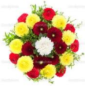 Gaziantep çiçek mağazası , çiçekçi adresleri  13 adet mevsim çiçeğinden görsel buket