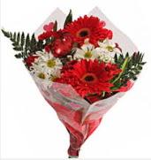Mevsim çiçeklerinden görsel buket  Gaziantep yurtiçi ve yurtdışı çiçek siparişi