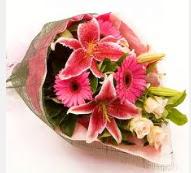 1 dal kazablanka ve mevsim çiçekleri  Gaziantep online çiçekçi , çiçek siparişi