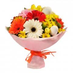 Karışık mevsim buketi Mevsimsel çiçek  Gaziantep online çiçekçi , çiçek siparişi