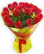 19 Adet kırmızı gül buketi  Gaziantep çiçek yolla , çiçek gönder , çiçekçi