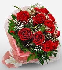 12 adet kırmızı güllerden kaliteli gül  Gaziantep çiçek yolla , çiçek gönder , çiçekçi