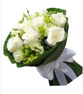 9 adet beyaz gül buketi  Gaziantep kaliteli taze ve ucuz çiçekler