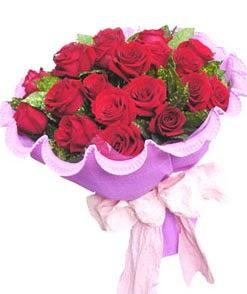 12 adet kırmızı gülden görsel buket  Gaziantep çiçek mağazası , çiçekçi adresleri