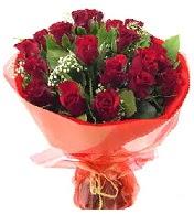12 adet görsel bir buket tanzimi  Gaziantep çiçek yolla , çiçek gönder , çiçekçi
