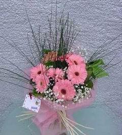 Gaziantep çiçek servisi , çiçekçi adresleri  Pembe gerbera mevsim çiçekleri