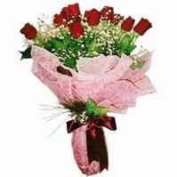 Gaziantep kaliteli taze ve ucuz çiçekler  12 adet kirmizi kalite gül