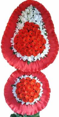 Gaziantep İnternetten çiçek siparişi  Çift katlı kaliteli düğün açılış sepeti