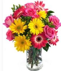 Vazoda Karışık mevsim çiçeği  Gaziantep çiçek mağazası , çiçekçi adresleri