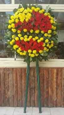 Cenaze çelengi çiçek modeli  Gaziantep çiçekçi mağazası