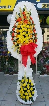 Çift katlı düğün nikah açılış çiçeği  Gaziantep internetten çiçek satışı