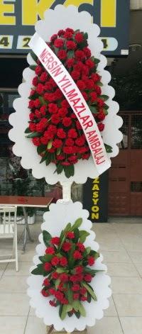 Çift katlı düğün nikah çiçeği modeli  Gaziantep çiçek servisi , çiçekçi adresleri