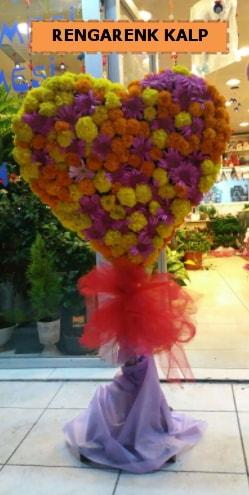 Ankara mevsim çiçeklerinden kalp perförje  Gaziantep 14 şubat sevgililer günü çiçek