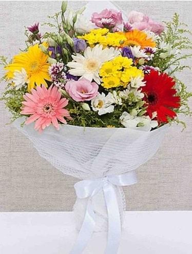 Karışık Mevsim Buketleri  Gaziantep çiçek online çiçek siparişi