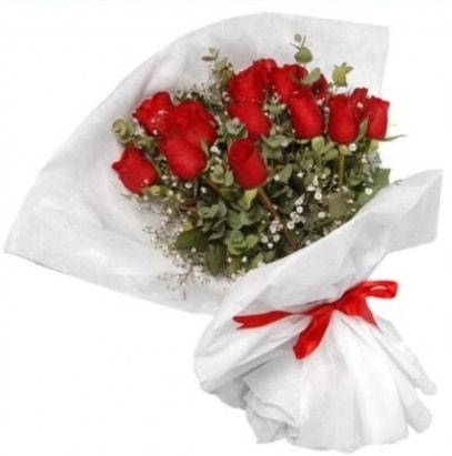 9 adet kırmızı gül buketi  Gaziantep çiçek mağazası , çiçekçi adresleri