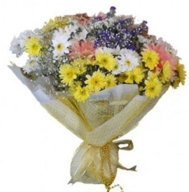 Karışık mevsim çiçeği  Gaziantep anneler günü çiçek yolla