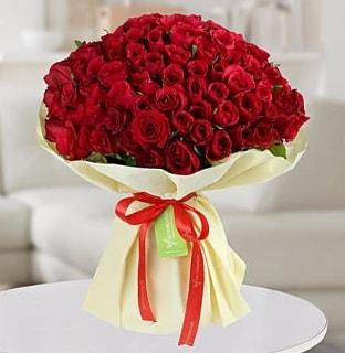 101 adet kırmızı gül buketi koca demet  Gaziantep online çiçekçi , çiçek siparişi