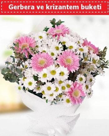 Papatya ve Gerbera Buketi  Gaziantep hediye sevgilime hediye çiçek