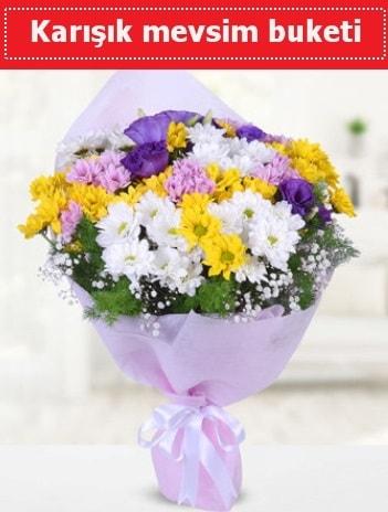 Karışık Kır Çiçeği Buketi  Gaziantep internetten çiçek satışı